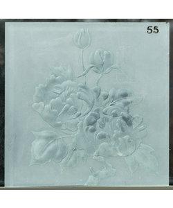 30 x 30 cm - Decoratief glas No. 55