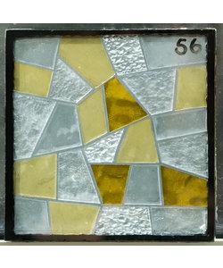 16 x 16 cm - Decoratief glas No. 56