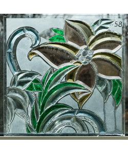 40 x 40 cm - Figuurglas No. 58