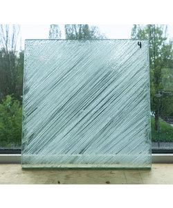 30 x 30 cm - Structuurglas No. 4