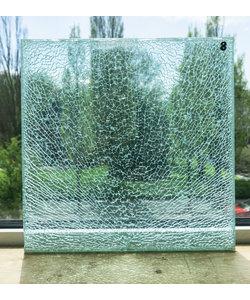 30 x 30 cm - Structuurglas No. 8