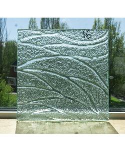 27 x 27 cm - Structuurglas No. 16