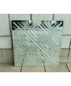 30 x 30 cm - Decoratief spiegelglas No 25