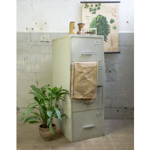 Industriële archiefkast - Grijs