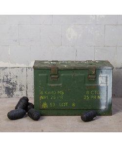 Stoere munitiekist - Leger groen