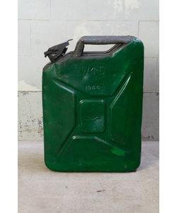Vintage jerrycan - Groen