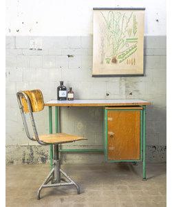 Vintage bureau - Lichtgroen