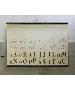 Schoolplaat letters - Klinkers & medeklinkers