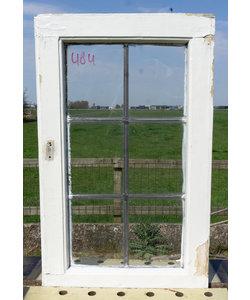 68 x 42,5 cm - Glas in lood raam No. 484