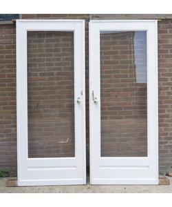 170 x 213 cm - Oude deuren set
