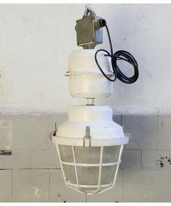Industriële hanglamp 'Snow white'
