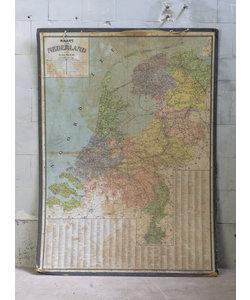 A. de Moor landkaart - Nederland