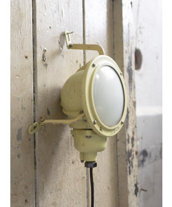 Vintage wandlamp 'Yellow Submarine'