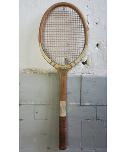 "Tennis racket - Wit ""No. 4"""