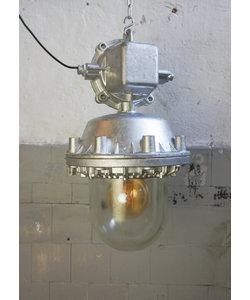Industriële hanglamp 'Bully' - Zilver