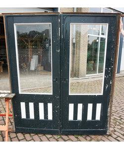 202 x 85 cm - Set ensuite deuren 'Donker groen'
