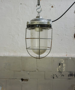 Stoere hanglamp - porselein