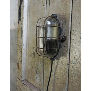 Stoere wandlamp - Caged