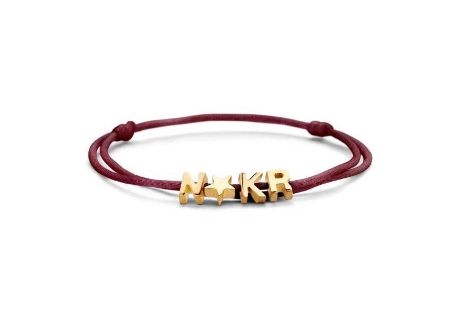 Capital Bracelet Cord 4 Capitals