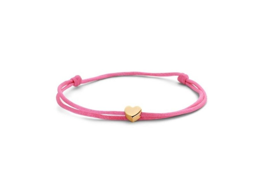 Capital Bracelet Cord Heart