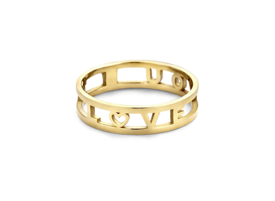 Love Letter Ring 5-8 Letters