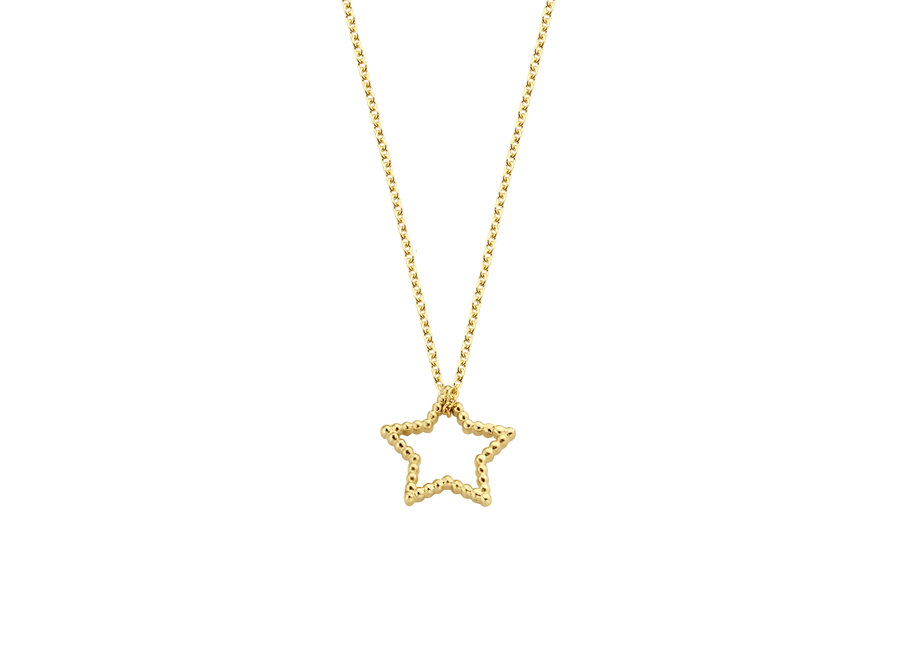 Vintage Necklace Star