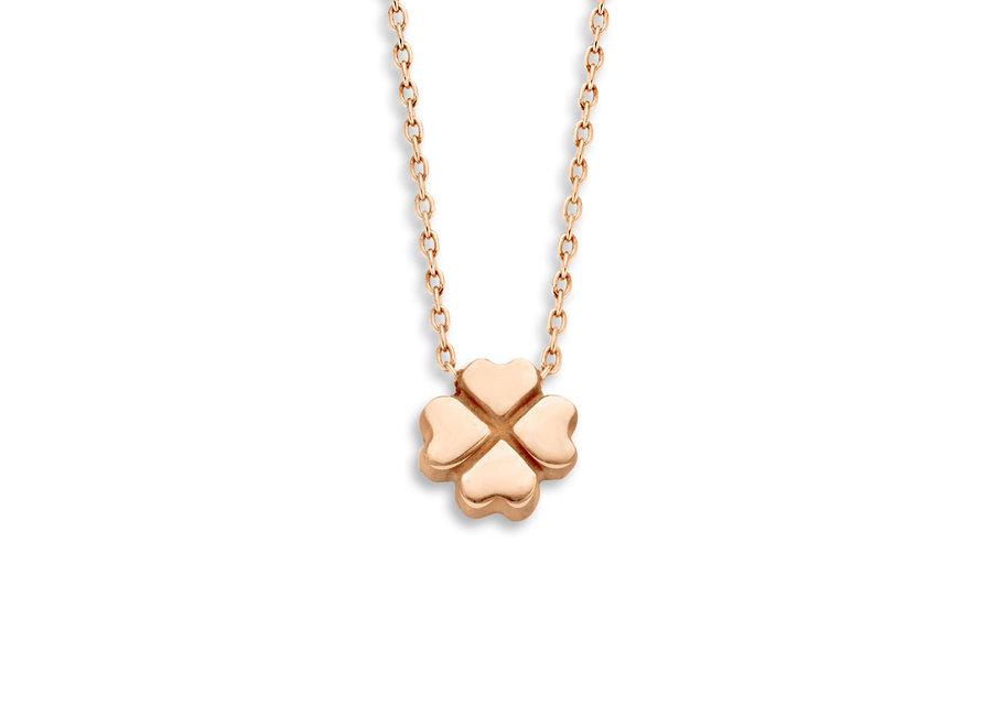 Capital Necklace Clover