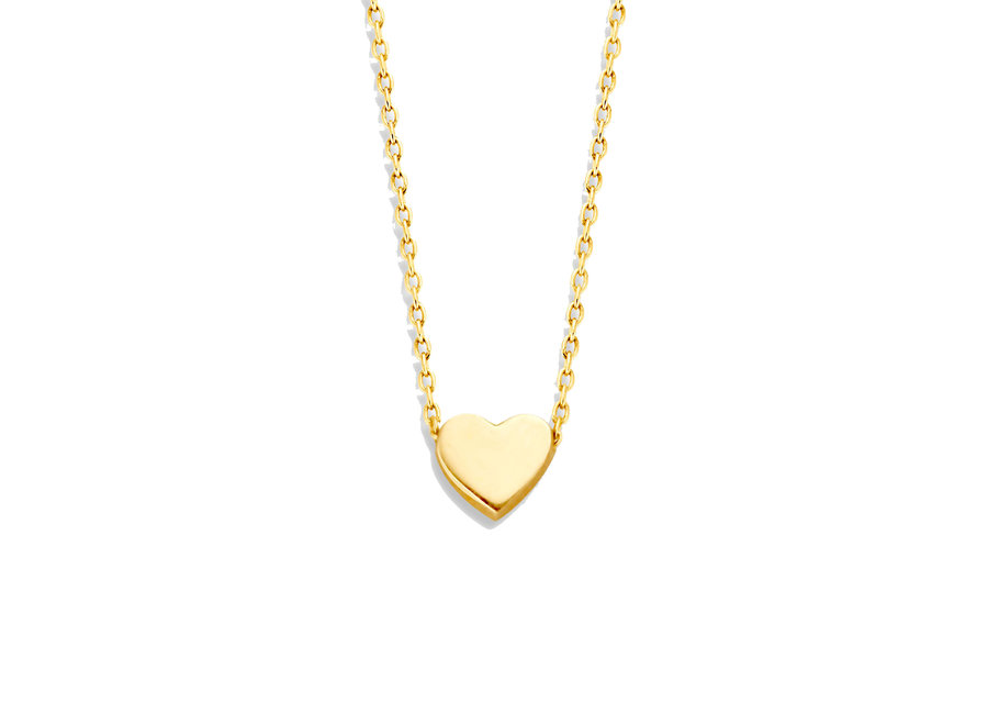 Capital Necklace Heart