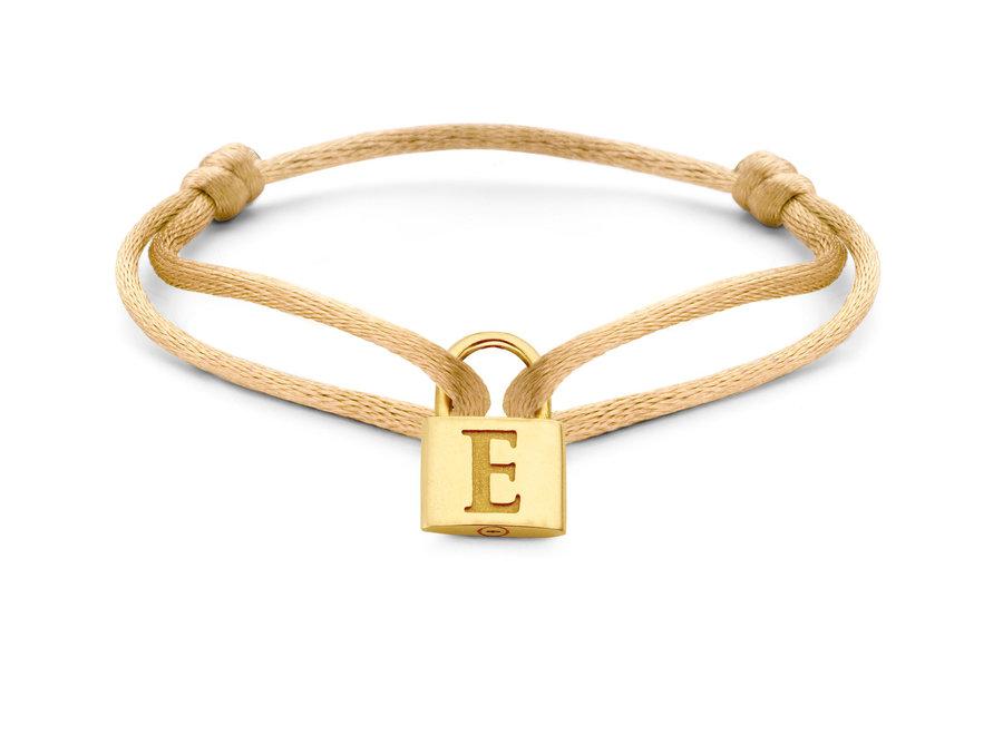 Charm Lock Bracelet Cord