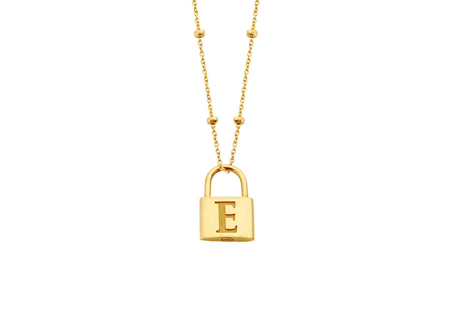 Charm Lock Necklace Bolletjes