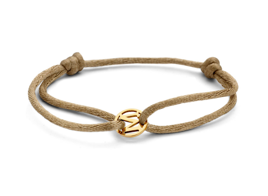 Charm Letter Bracelet cord