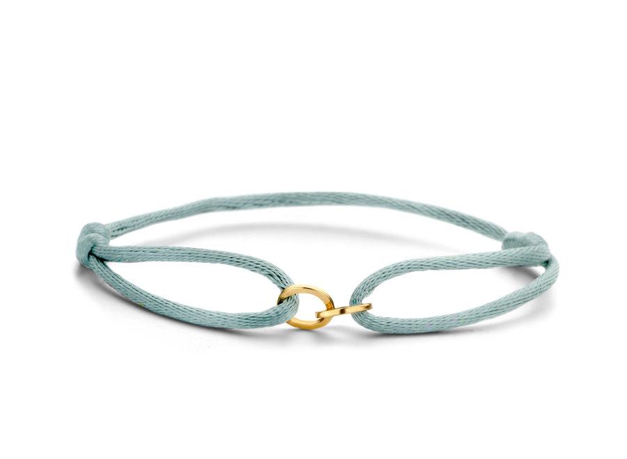 Iconic Bracelet Double Open Circle Cord