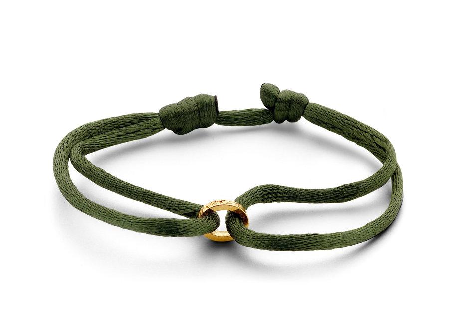 Single Open Circle Bracelet cord