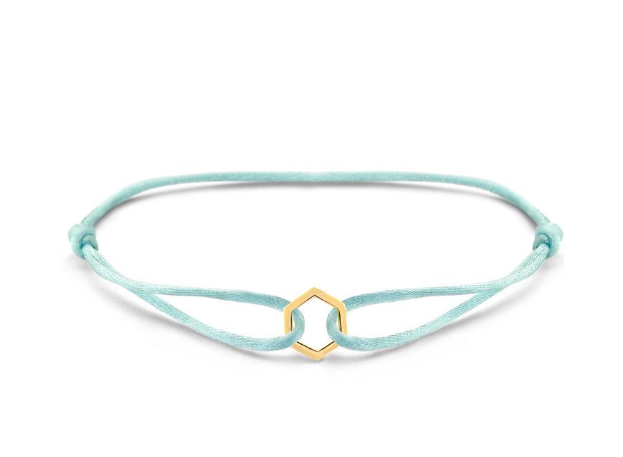 Iconic Bracelet Hexagon Cord