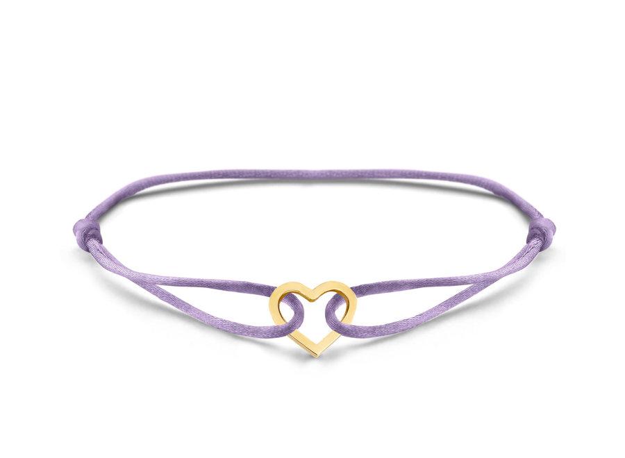 Iconic Bracelet Heart Cord
