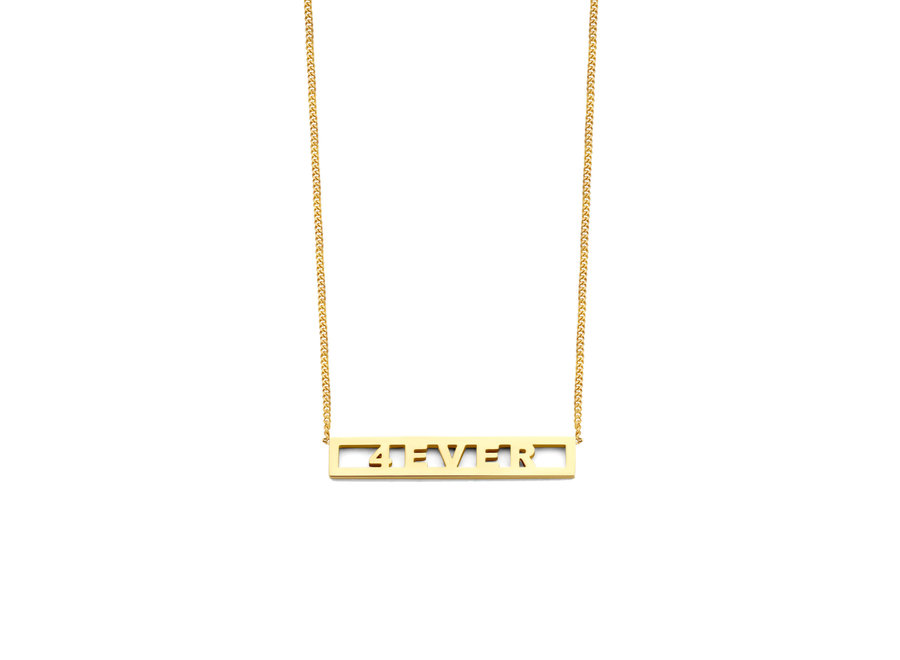 Love Bar Necklace 5 Letters