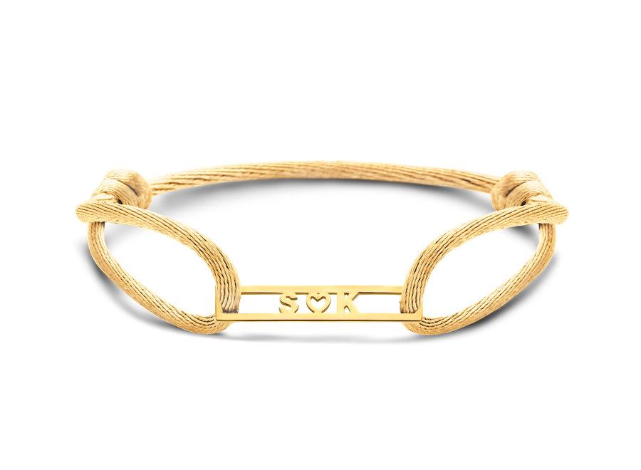 Love Bar Bracelet 3 Letters