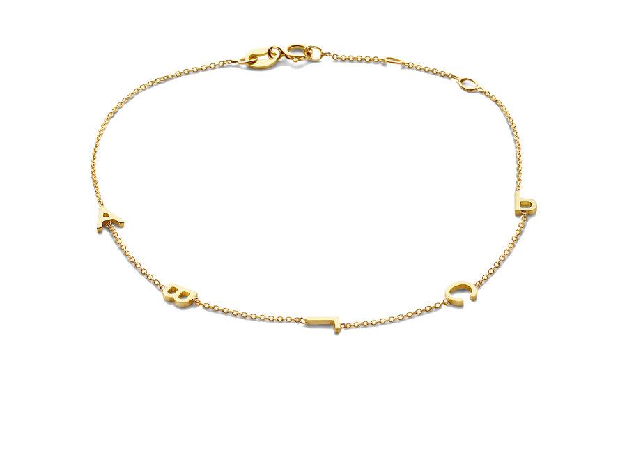 Love Letter Bracelet 5 Initials