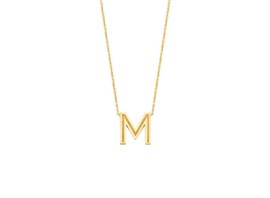 Love Letter Big necklace 1 letter