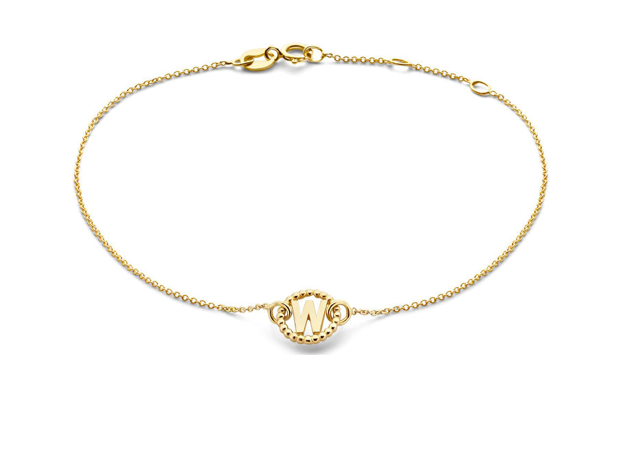 Vintage Bracelet Letter Chain