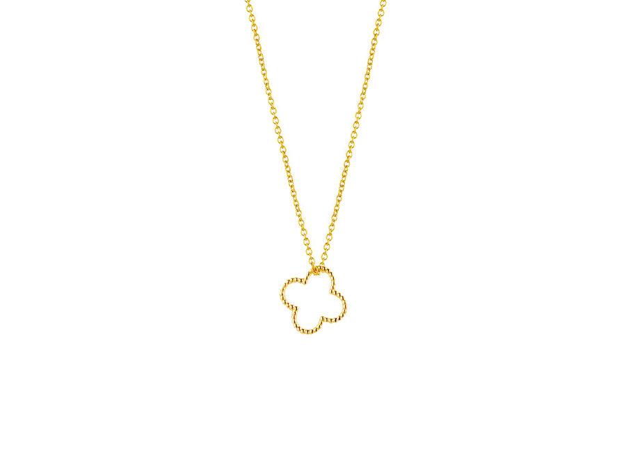 Vintage necklace clover