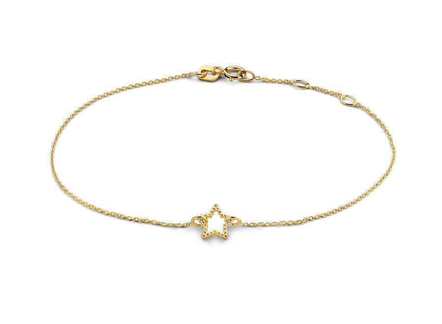 Vintage Bracelet Star Chain