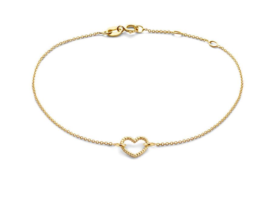 Vintage Bracelet Heart chain