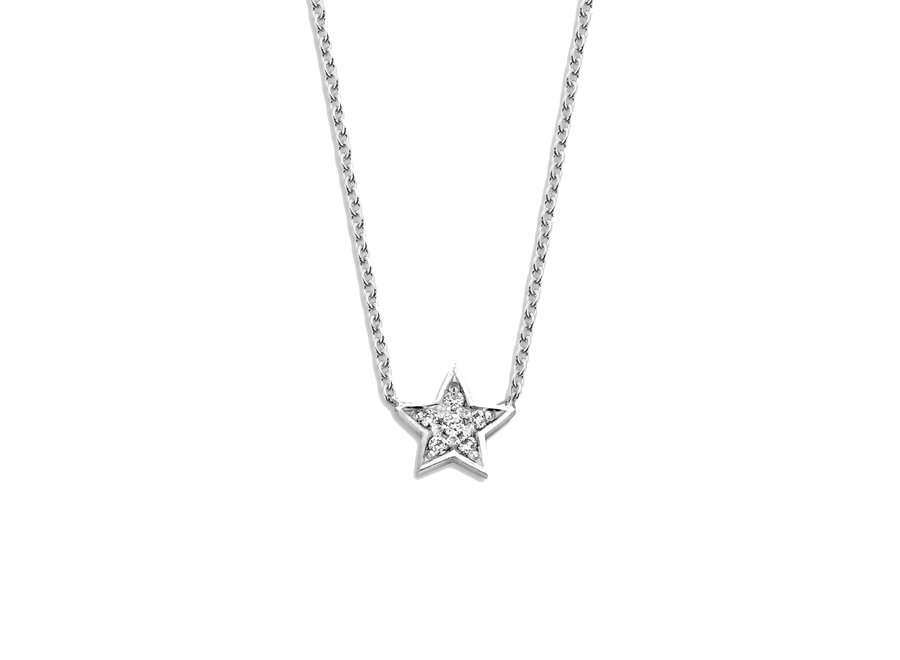 Just Diamond Necklace Star