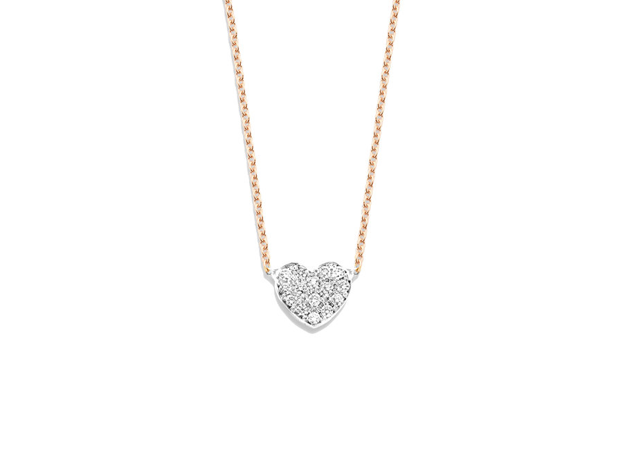 Just Diamond Necklace Heart