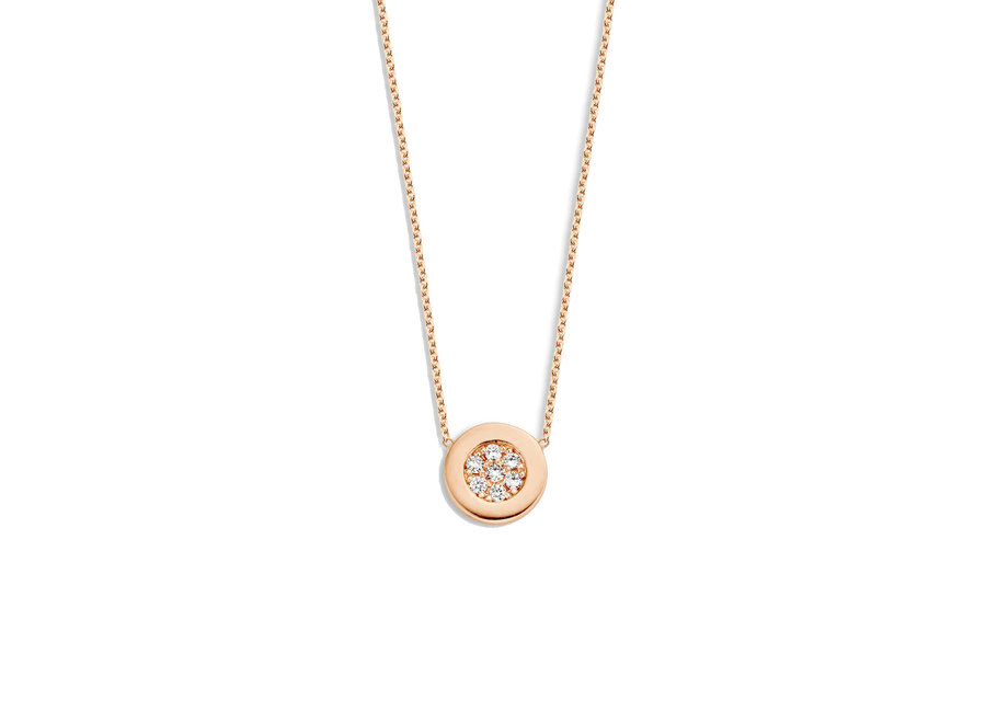 Just Diamond Necklace Coin
