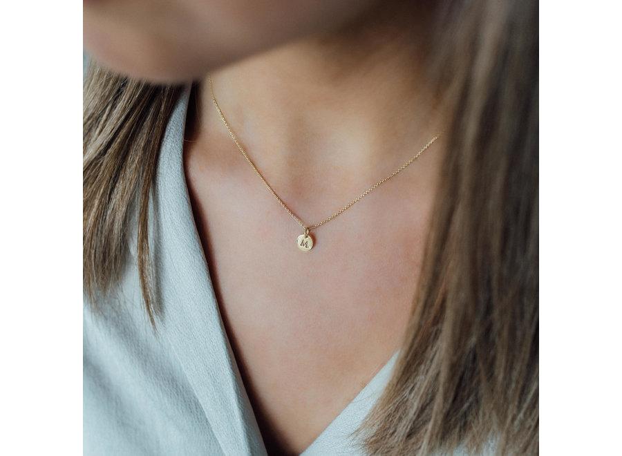 Coin Necklace Mini 1 Diamond Coin