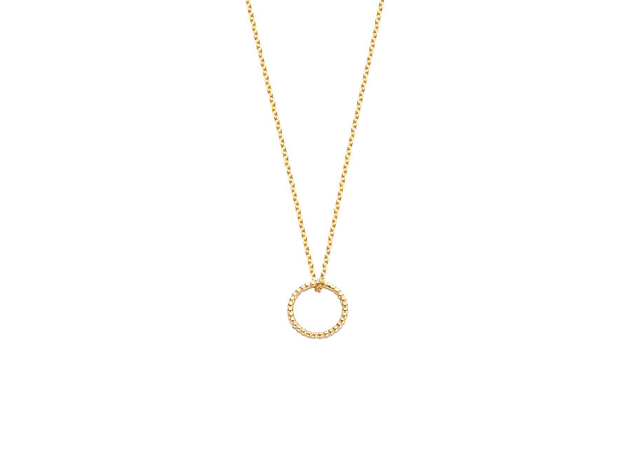 Vintage Necklace Round