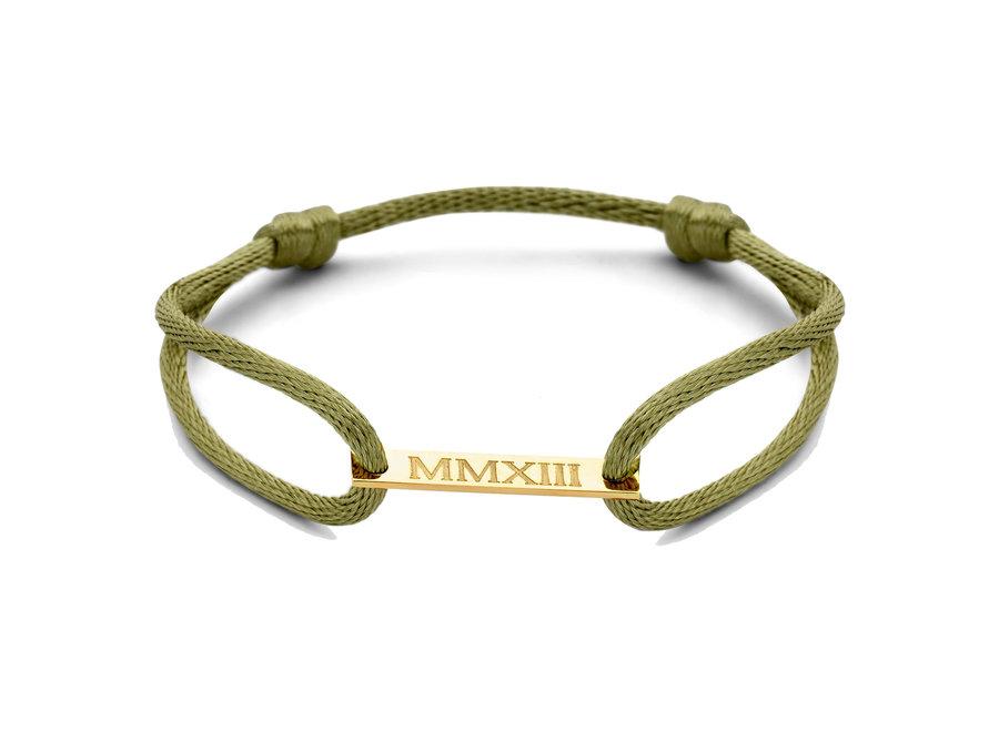 Bar Bracelet Cord Men