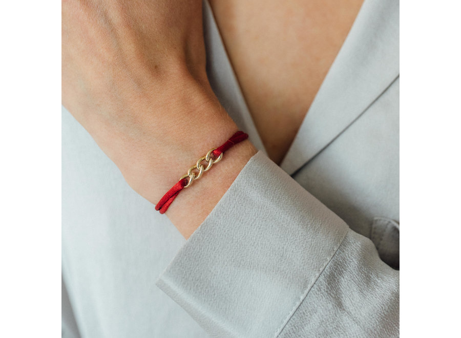 Chain Bracelet Silk